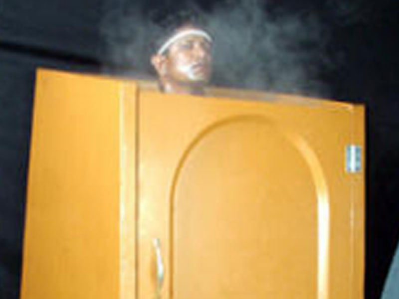 Herbal Steam Bath Ayurvedic Therapy / Treatment