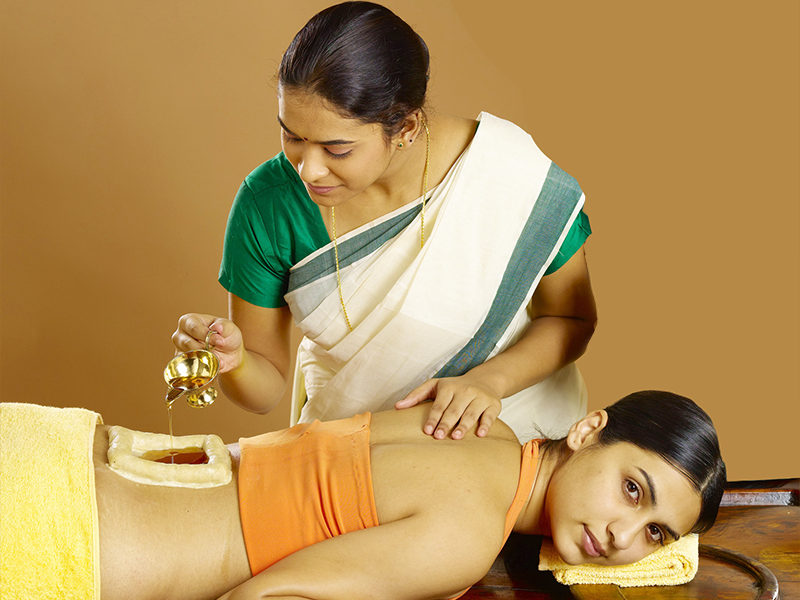 Kativasti Ayurvedic Therapy / Treatment