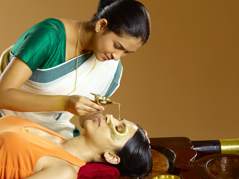 Netra Tharpanam Ayurvedic Therapy / Treatment
